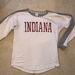 Indiana university PINK sweatshirt